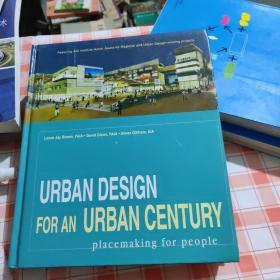 Urban Design for an Urban Century:Placemaking for People