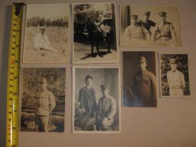 侵华时期 日军 照片 7枚
