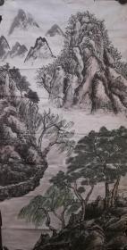 旧画大山水一幅