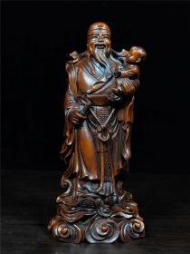 黄杨木木雕人物故事