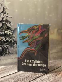 魔戒指环王德版五十周年亚麻版限量全球5000本Der Herr der Ringe(German) Hardcover
