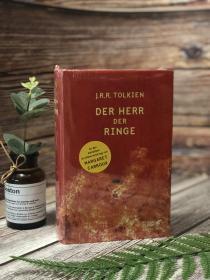 预售德版魔戒指环王红宝书精装Der Herr der Ringe