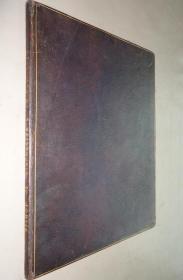 1829年 A Charge, Delivered to the Clergy of the Diocese of Winchester  经典神学论文《谴责 》珍贵初版本 全摩洛哥羊皮特装本 超大开本品相佳