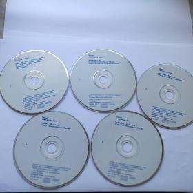 莫扎特音乐会咏叹调   5CD(裸碟)