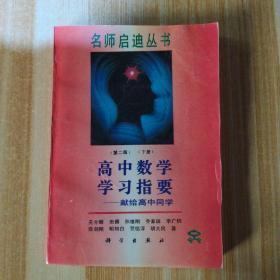 名师启迪丛书一一高中数学学习指要(第二版下册)