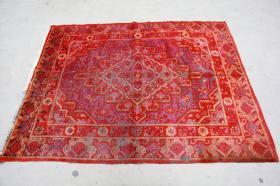新疆民族手工老地毯【长2.20米宽1.50米】