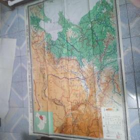 各类中学地理教学挂图(1980一版一印)十张每张十二元合售
