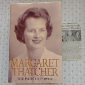 The Path To Power     Margaret Thatcher 英语原版精装