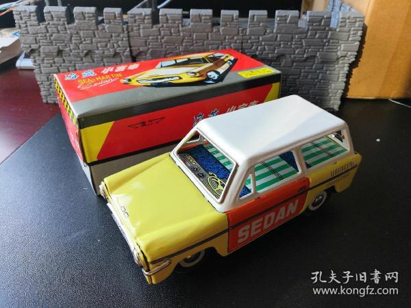 鐵皮玩具車(海燕小客車)