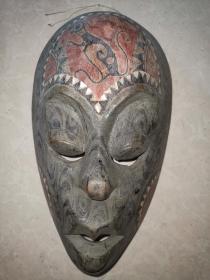 非洲木雕面具
