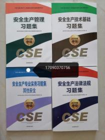 官方版注册安全工程师教材习题集