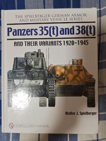 德军35T-38T坦克及变形车