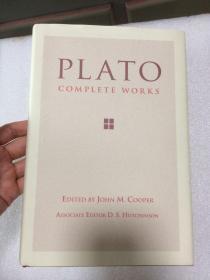 现货  Plato: Complete Works  英文原版 柏拉图全集  Plato , J. M. Cooper