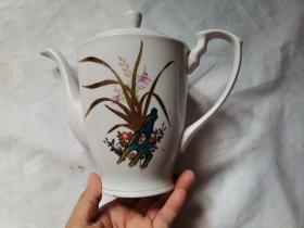 大茶壶 瓷器
