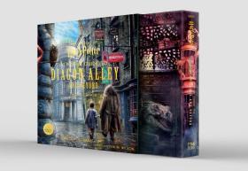 预售哈利波特对角巷立体书英版豪华封套版Harry Potter A Pop Up Guide to Diagon Alley Deluxe