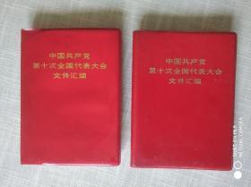 中国共产党第十次全国代表大会文件汇编(二本合售)