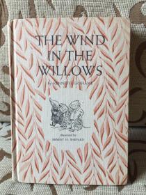 The Wind in the Willows by Kenneth Grahame -- 格雷厄姆《柳林风声》1953年老版书 Shepard经典插画