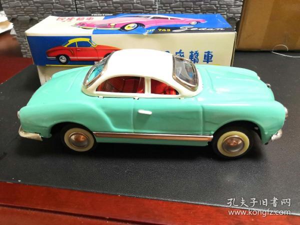 鐵皮玩具車(四座轎車)