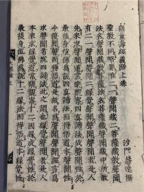 無量壽經義疏2冊全,慧遠撰,寬文九年據古活字覆刻。比較少見,日本和歌山覺圓寺舊藏。