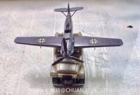 沙博士 拼裝玩具 BF109戰斗機 豐田越野車