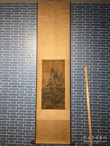 仇英(约1498-1552)字实父,号十洲,原籍江苏太仓,后移居苏州。[1]中国明代绘画大师,吴门四家之一