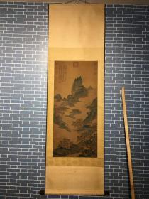 李思训(651年—716年,一作648年—713年),字建睍,一作建景,陇西成纪(今甘肃秦安)人