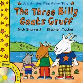 The Three Billy Goats Gruff (Lift-the-Flap Fairy Tales)  三只壞脾氣的小山羊