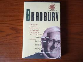 THE VINTAGE BRADBURY 布莱伯利陈年美酒 科幻大师短篇精选集 英文原版 含名作:《蒲公英酒》和《浓雾号角》等