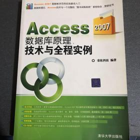 Access 2007数据库原理、技术与全程实例