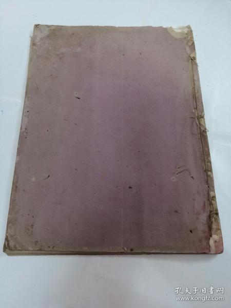 稀见民国画册玻璃版(神州国光集)(里面有印章)(书前后皮上面有点破,书里面有点水印,书以图片为准)