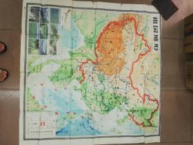 中国地形  地图