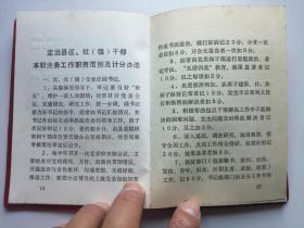 红塑皮本:(安徽省)定远县区社干部岗位责任制手册