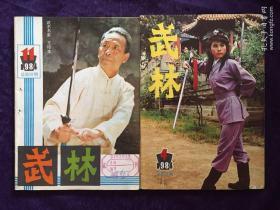 武林1984年 4、11、(两册合售)