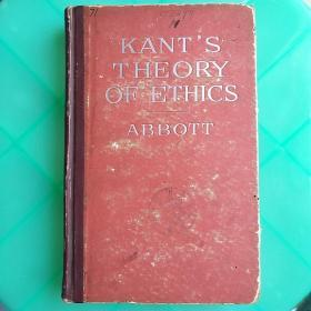 kant'S theory of ethics康德的道德理论(V022)