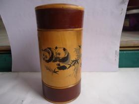 木茶叶筒,茶叶盒