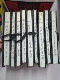 早期机床图纸【M7120A卧轴矩台平石磨床  全12册缺1、4、10册】上海机床厂