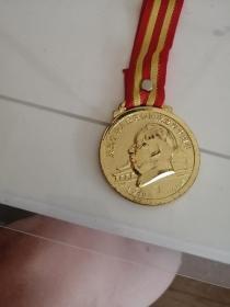 建国六十周年纪念章