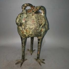鹤,保真,铜的,非常漂亮,,工艺精美......