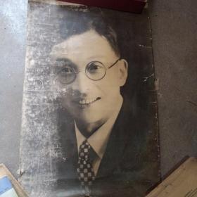 民国上海国华烟厂老板李康年先生老照片一张!