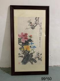 朱白亭 花卉