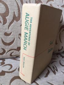 The Adventures of Augie March by Saul Bellow -- 索尔 贝娄《奥吉马奇历险记》Viking Press 1953年老版书 布面精装毛边本