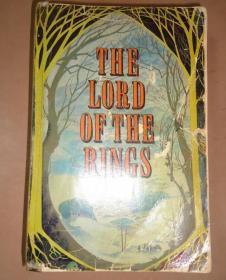 Tolkien - The Lord of the Ring  托尔金奇幻小说巨著《指环王》珍贵1版2印