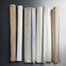 4491 四尺全开旧宣纸 共75张
