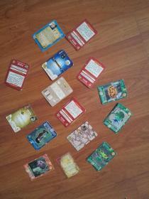 15张食品卡便宜走(魔法士、三国、火影忍者、游卡桌游)