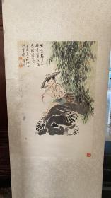 谭涤非人物画67.5/43