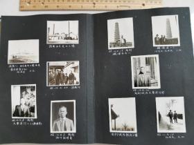 原版民国老照片:民国时期影集一本,约140多张老照片,从民国开始,记录了主人公的生平,有些照片是在中国所拍摄(济南、开封等地)