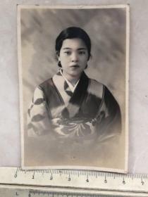 民国时期日本和服美女老照片