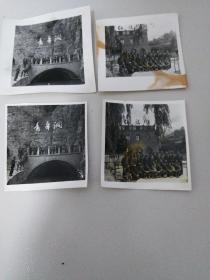 文革红旗渠老照片,4张。