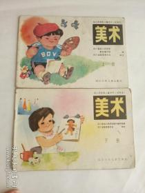幼儿学前班儿童用书(试用本)    美术     上下册 合售