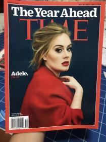 Time时代周刊 2016 阿黛尔封面